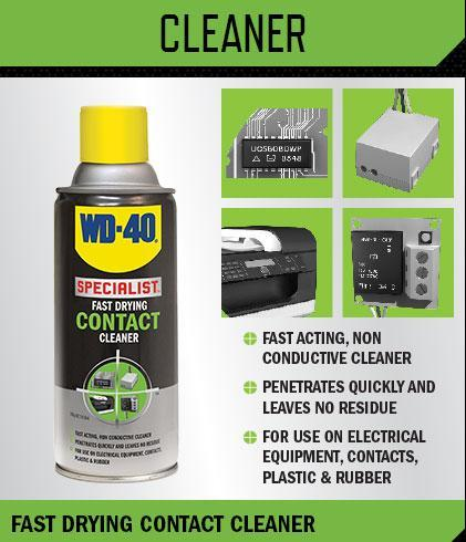 WD 40 SPECIALIST FAST DRYING CONTACT End 8 2 2019 915 AM