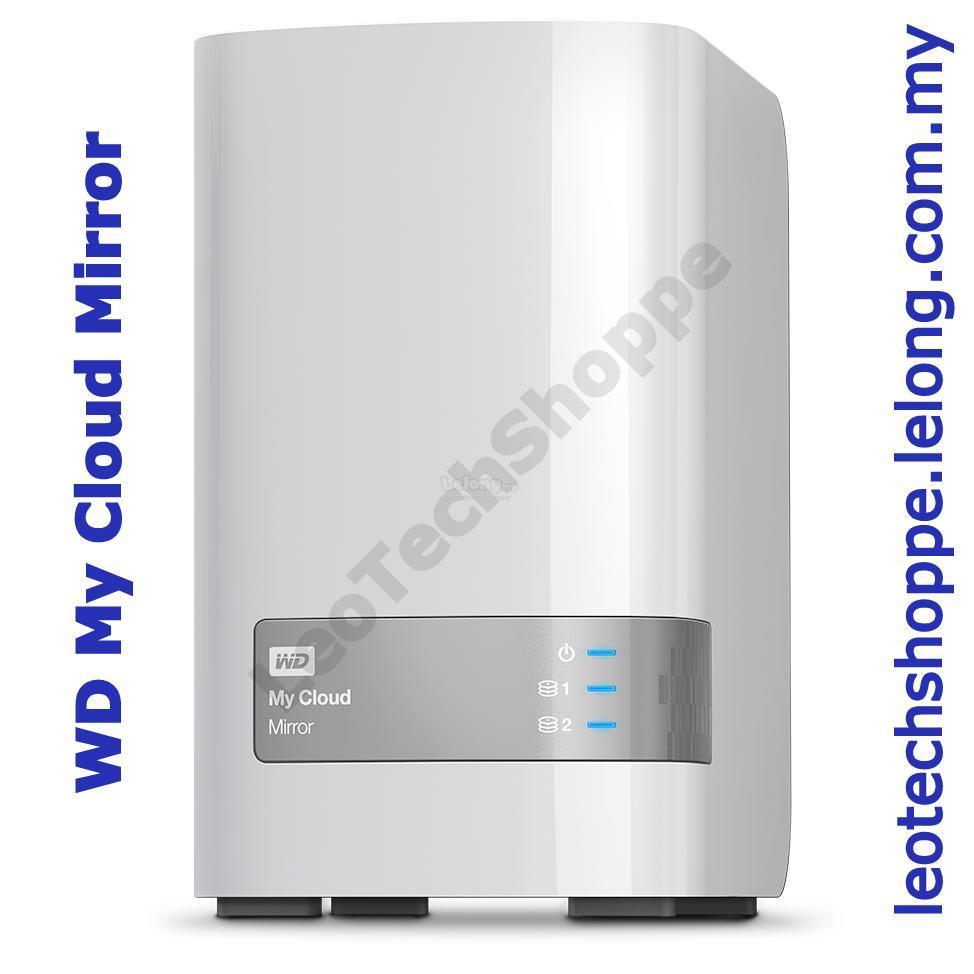 WD MY CLOUD MIRROR GEN-2 4TB/6TB/8TB/12TB/16TB PERSONAL CLOUD, NAS