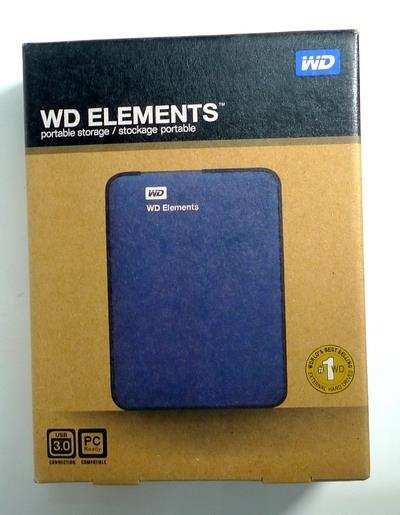 WD Elements USB 3.0 SATA 2.5 inch HDD Enclosure USB3 Casing