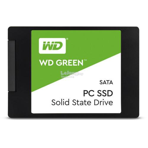 # WD Green 2.5-inches SATA Solid State Drives # 240GB/480GB