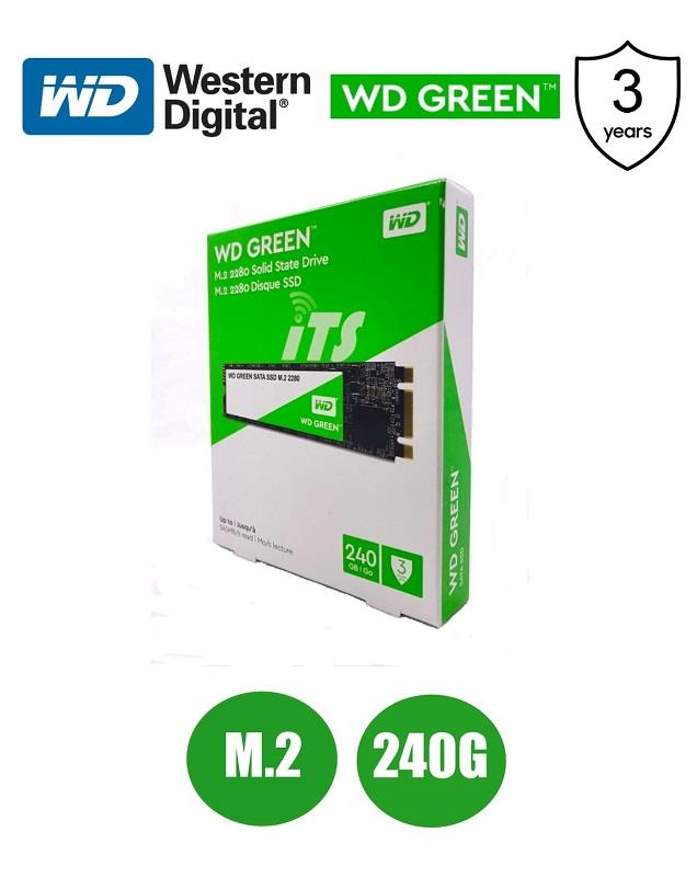 WD Green PC SSD M.2 2280 SATA III 6GB (240GB)