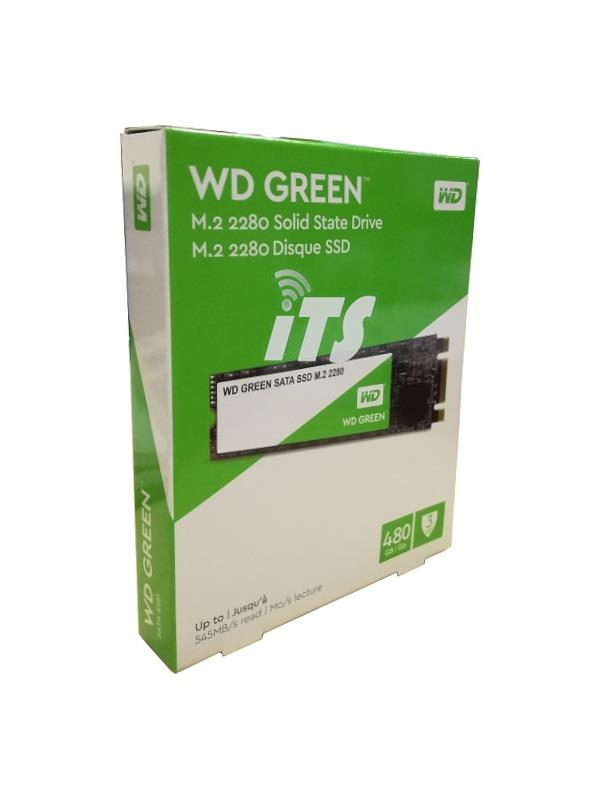 WD Green PC SSD M.2 2280 SATA III 6GB (480GB)