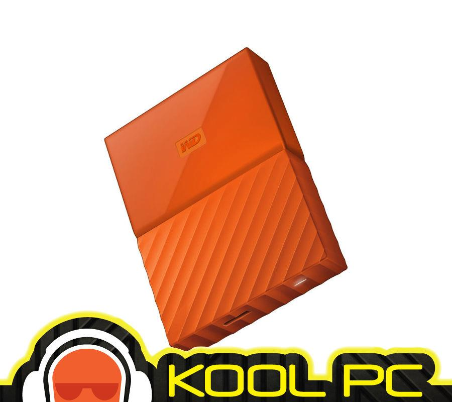 "*  WD MYPASSPORT 2.5""  1TB USB3.0-ORANGE WDBYNN0010BOR"