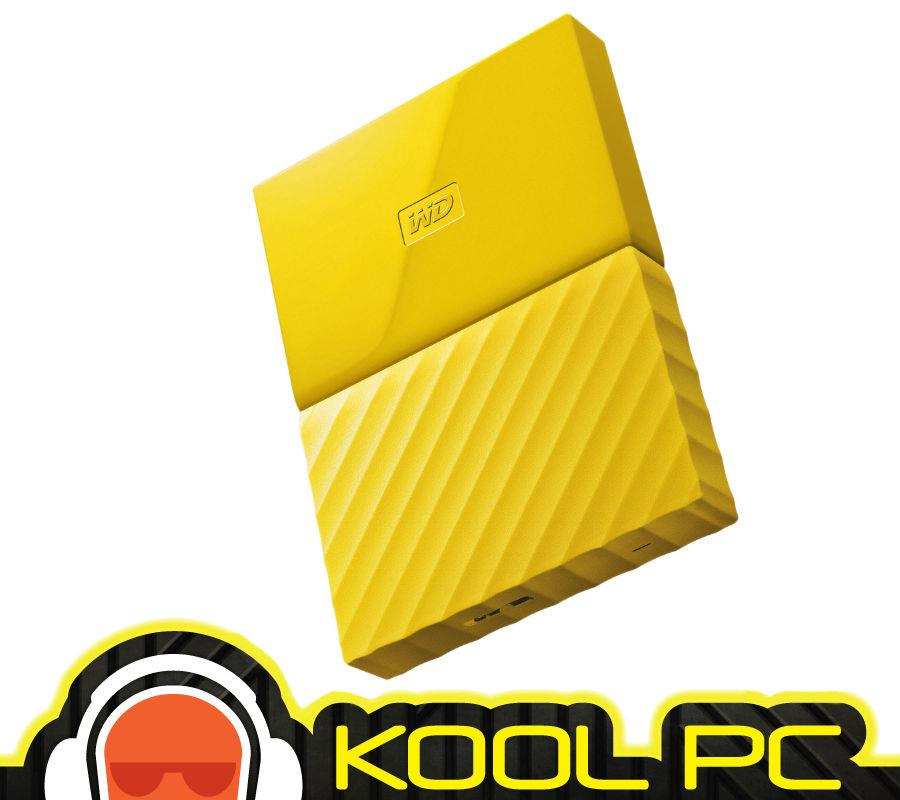 "* WD MYPASSPORT 2.5""  1TB USB3.0-YELLOW WDBYNN0010BYL"