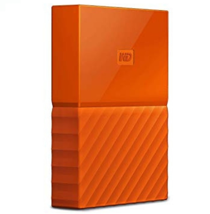 WD My Passport Lumen Portable Hard Disk USB 3 0