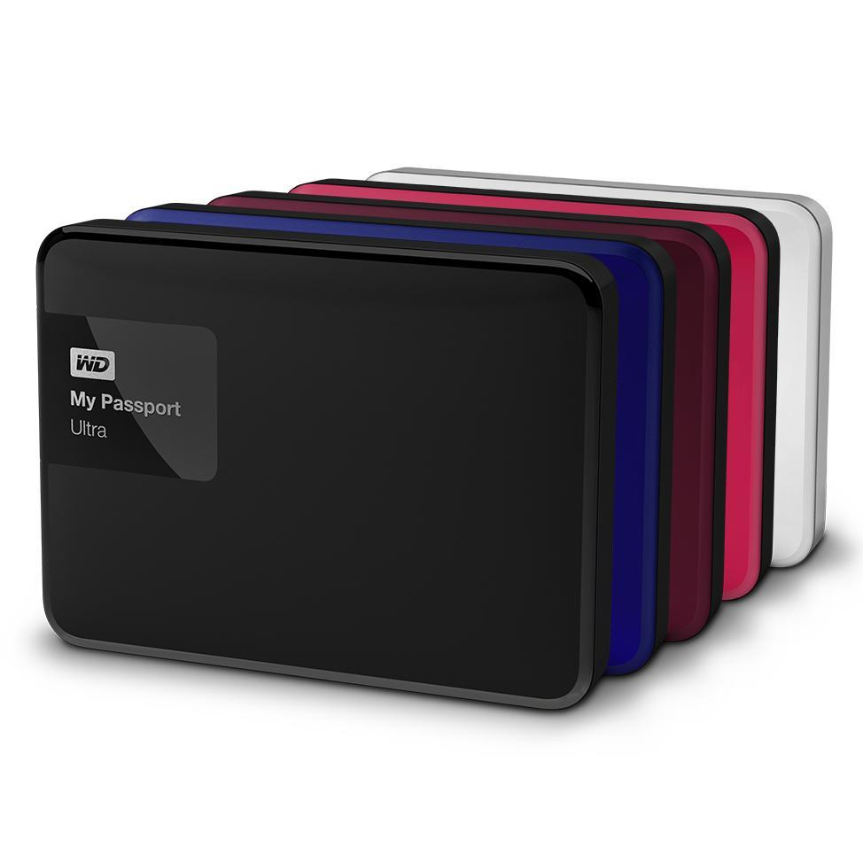 WD My Passport Ultra 1TB Portable Storage