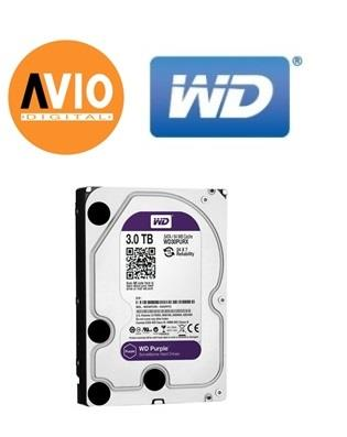 WD Western Digital WD30PURZ 3.5' 3.5 inch 3TB 3000GB Purple CCTV Hard