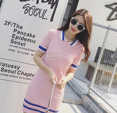 WD7199 Korea Fashion Stylish Dress As Picture