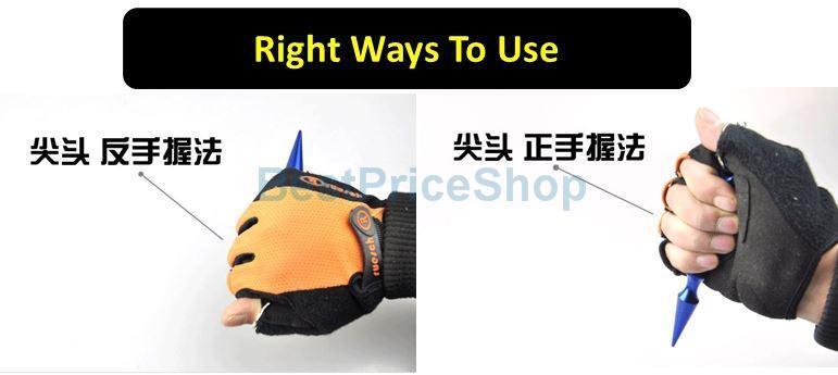 Weapon Pen Sharp Kobuton Knife Self Defence Tactical Impromptu Stick
