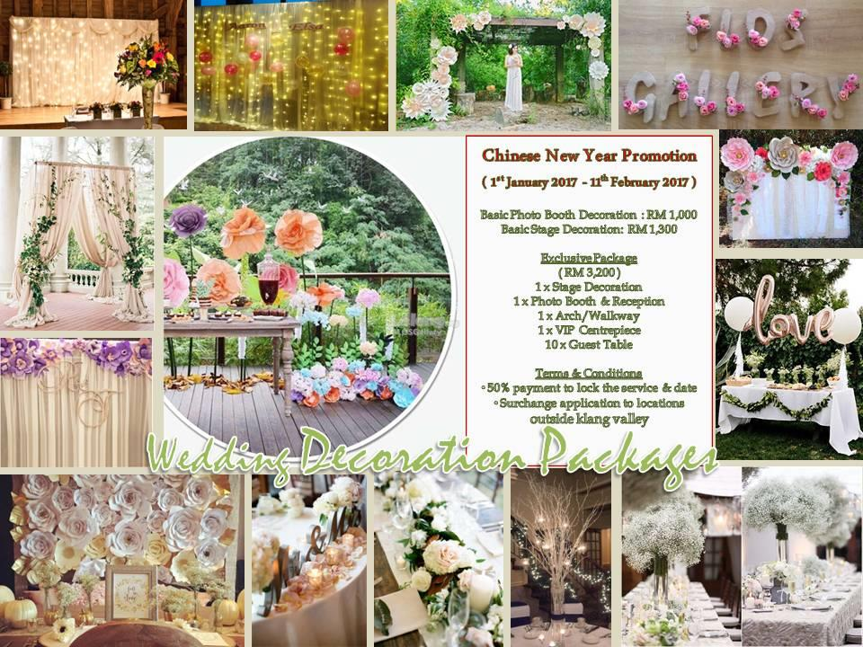Wedding decoration package 2017 as l end 2272017 615 pm wedding decoration package 2017 as low as rm1000 junglespirit Image collections