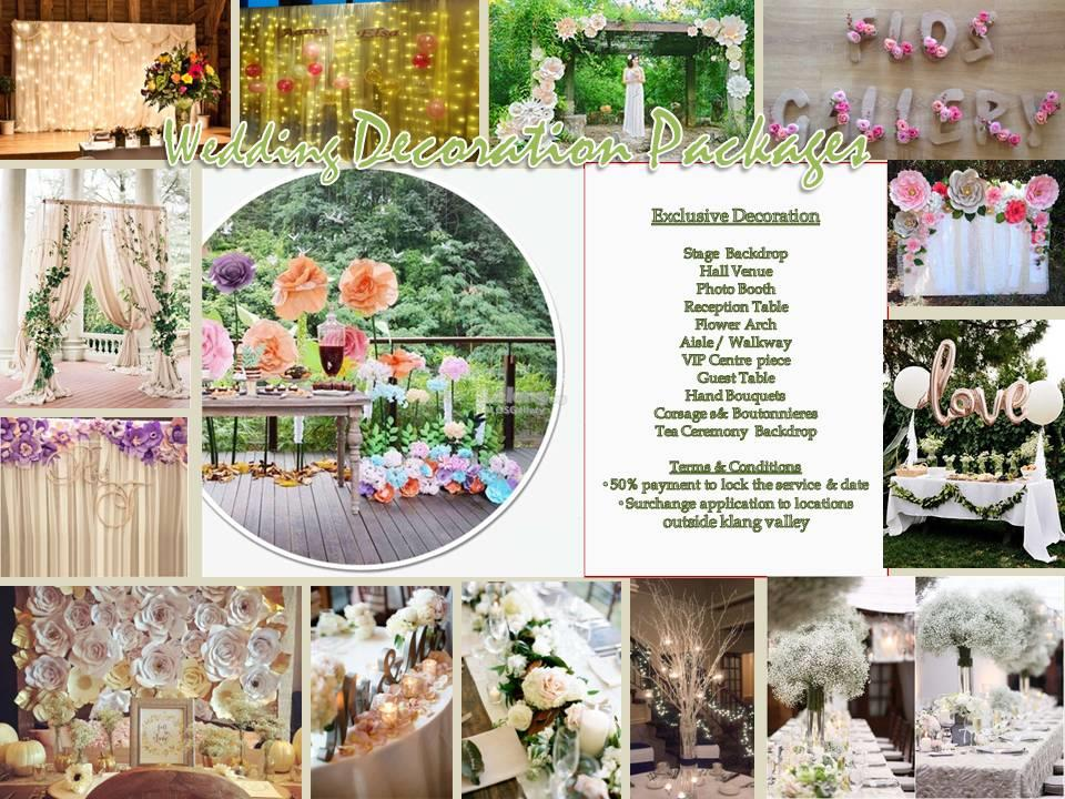Wedding decoration package 2017 as end 5222018 1156 pm wedding decoration package 2017 as low as rm1000 junglespirit Gallery