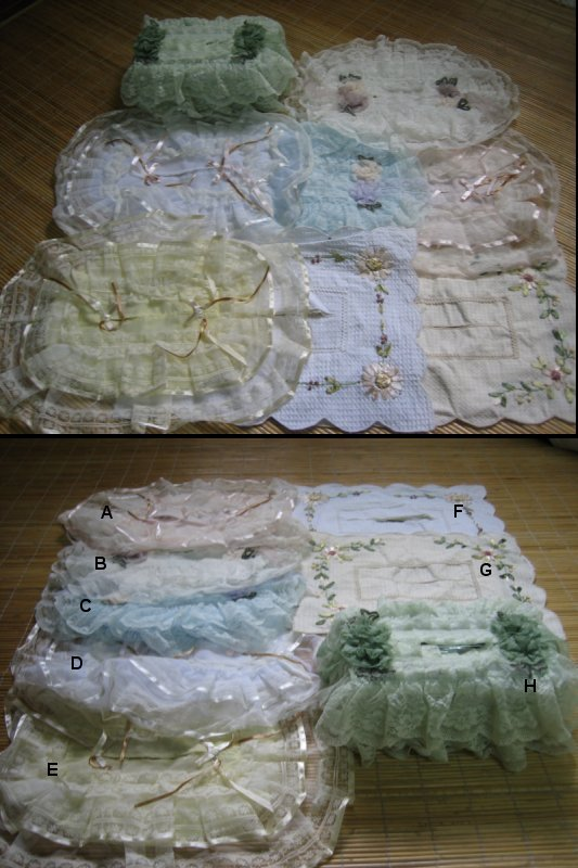 <B>WEDDING LACE TISSUE BOX COVER IMPORT DIRECT FROM CHINA FROM RM5</B>