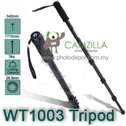 WEIFENG WT-1003 Camera Monopod 4-Sections Leg with Case