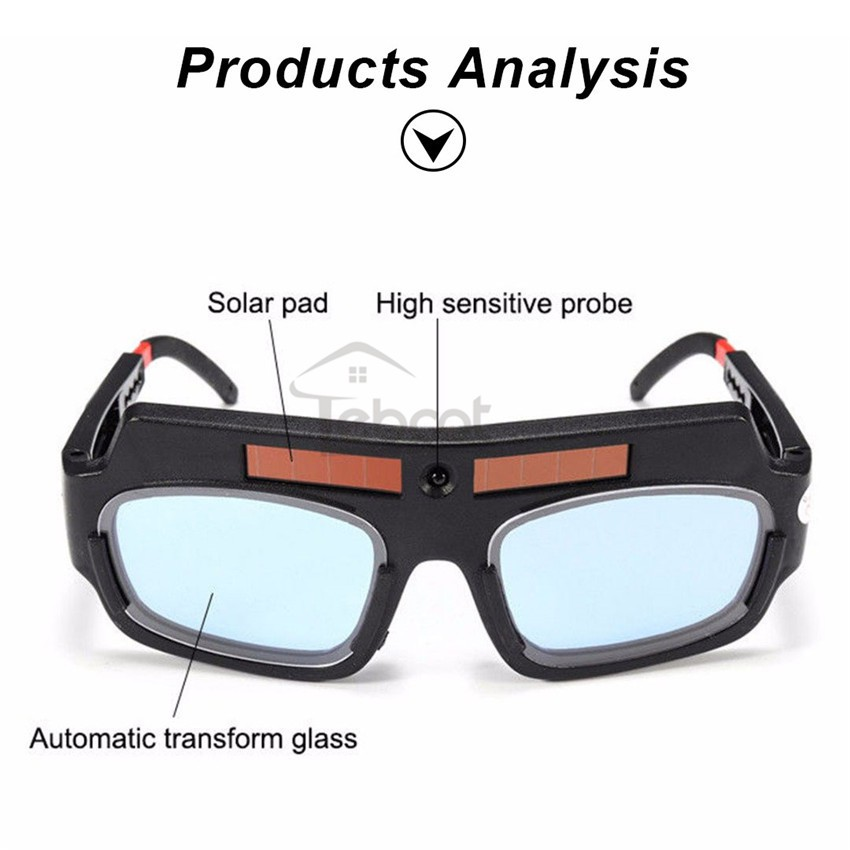Welding Tools Eyes Protection Welding Goggles Solar Powered Auto Darke