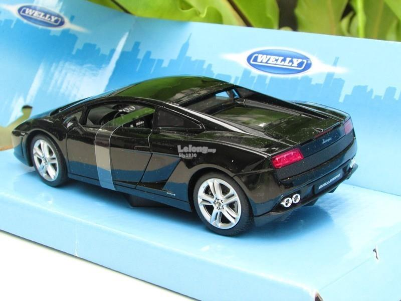 Welly 1/24 Diecast Car LamborghiniGallardo LP560-4 (Black)