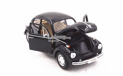 Welly 1/24 Diecast Car VW Volkswagen Beetle Classic (BLACK)
