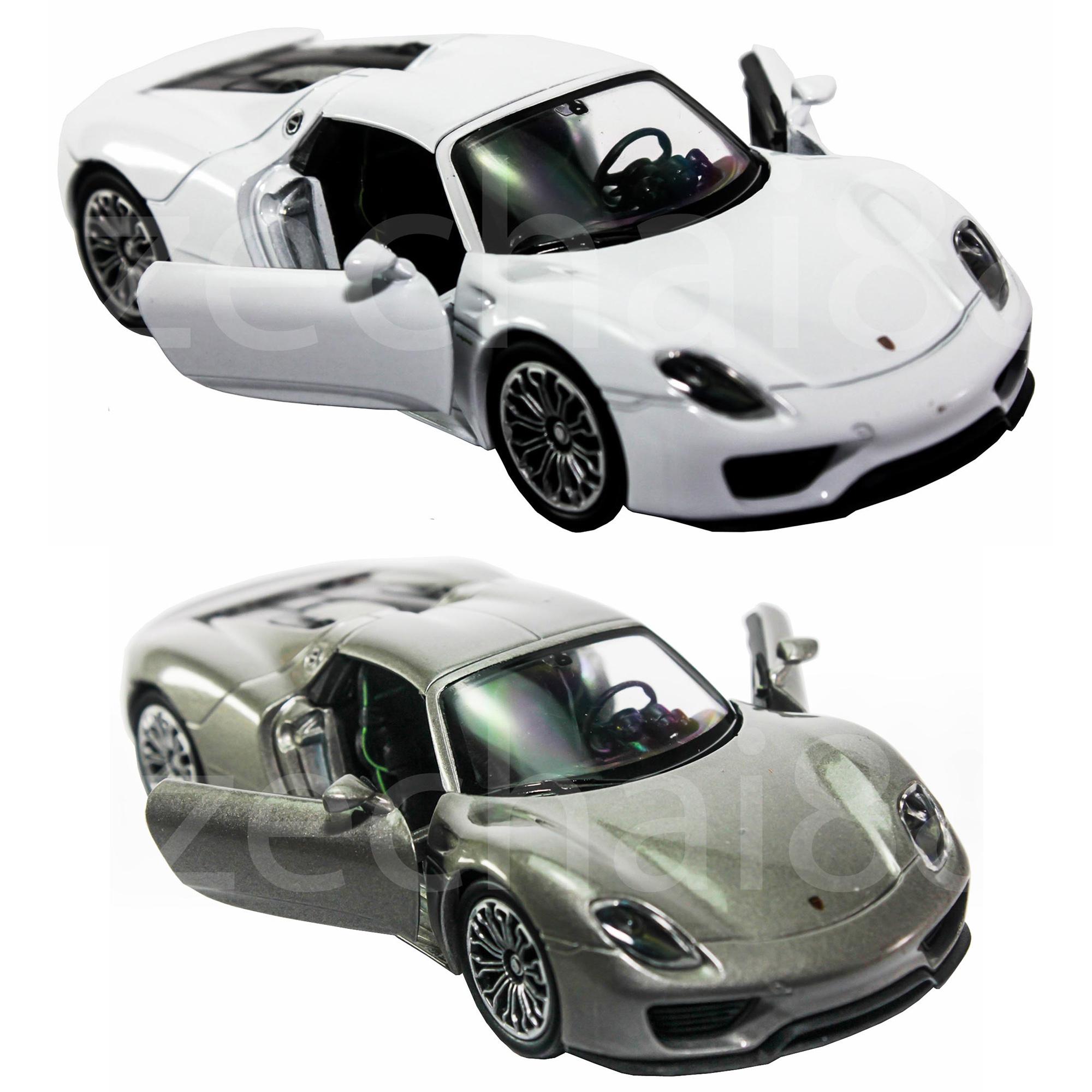 welly-1-34-1-39-die-cast-porsche-918-spyder-car-grey-white-color-model-neo123-1708-25-F247519_1 Amazing Porsche 918 Spyder sold Out Cars Trend