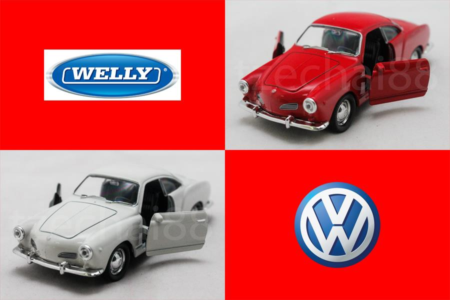 2018 volkswagen karmann ghia. perfect 2018 welly 134139 diecast volkswagen karmann ghia coupe car 2 color in 2018 volkswagen karmann ghia