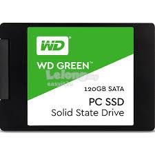 WESTERN DIGITAL 120GB WD GREEN PC 2.5' SOLID STATE DRIVE (WDS120G2G0A)