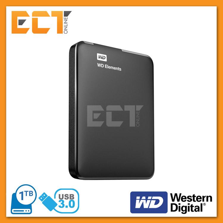 1eae4e91c3 Western Digital 1TB Elements USB 3.0 Portable External Hard Disk Drive. ‹ ›