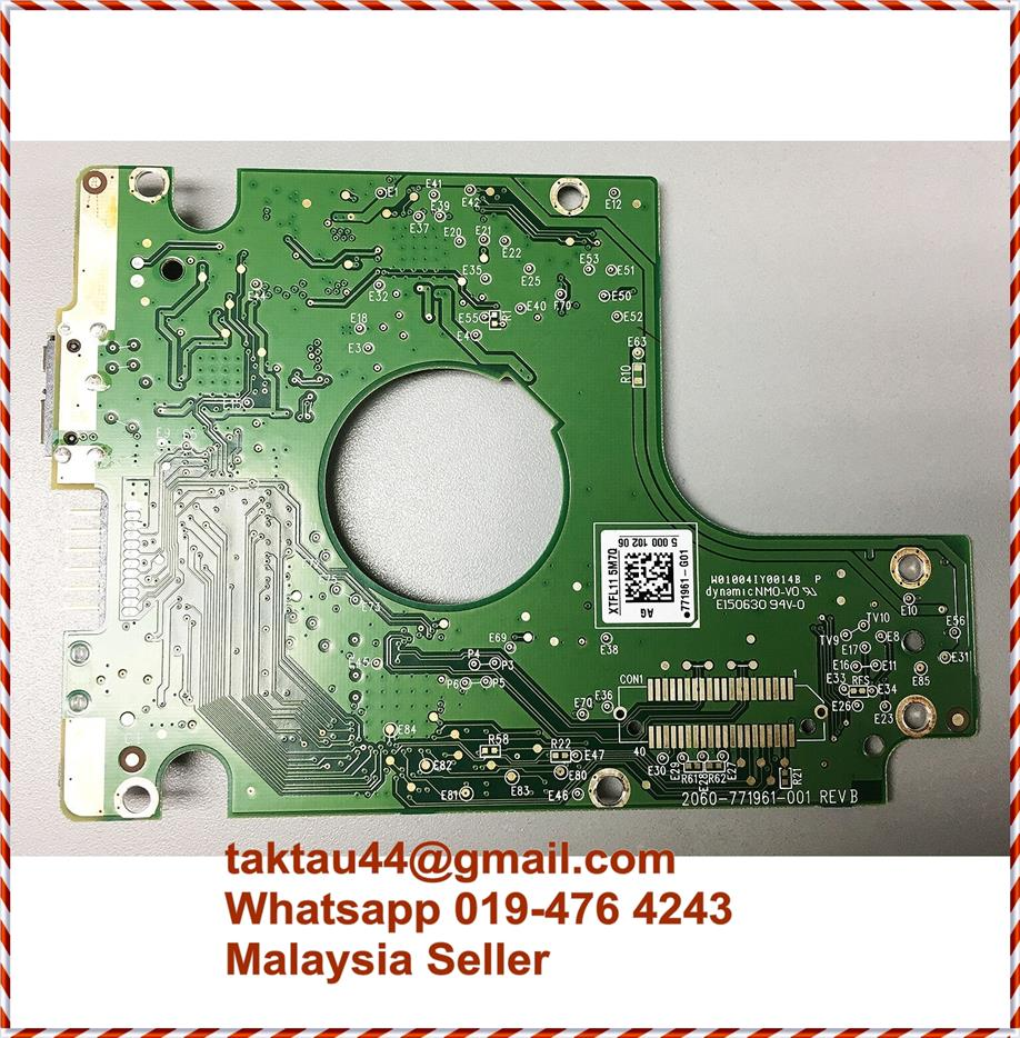 Western Digital 1TB HDD Hard Disk Logic Board PCB 2060-771961-001 REV