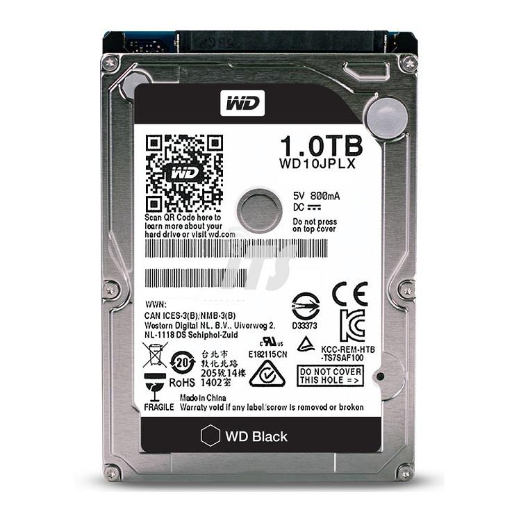 Western Digital 2.5' 1TB Scorpio Black HDD - 7200rpm
