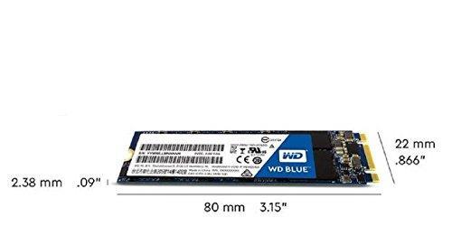 Western Digital Blue 250GB M 2 2280 3D Nand SSD - WDS250G2B0B