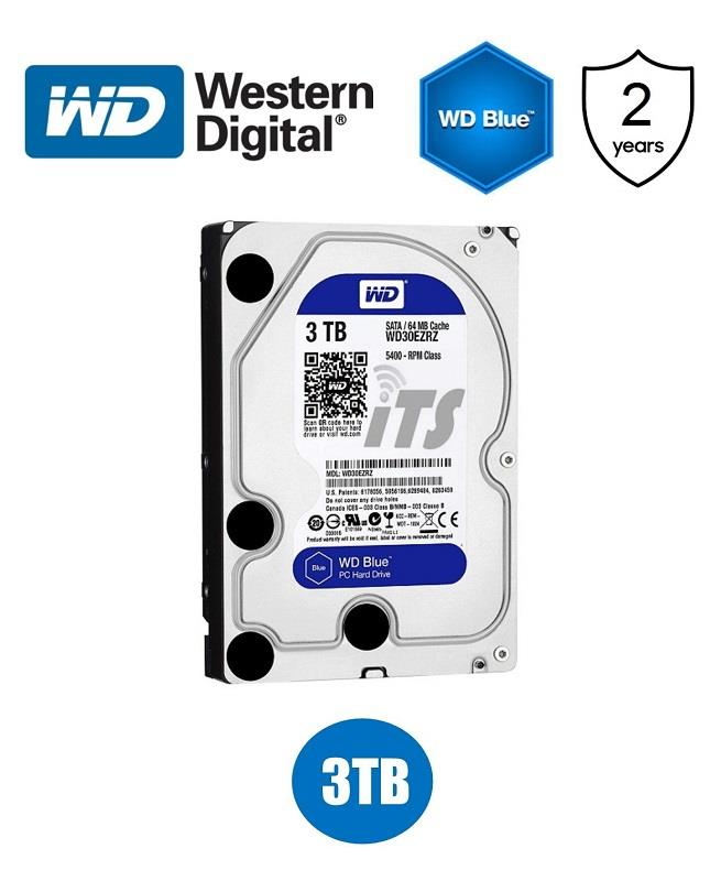 Western Digital Blue 3.5' 3TB Hard Drive