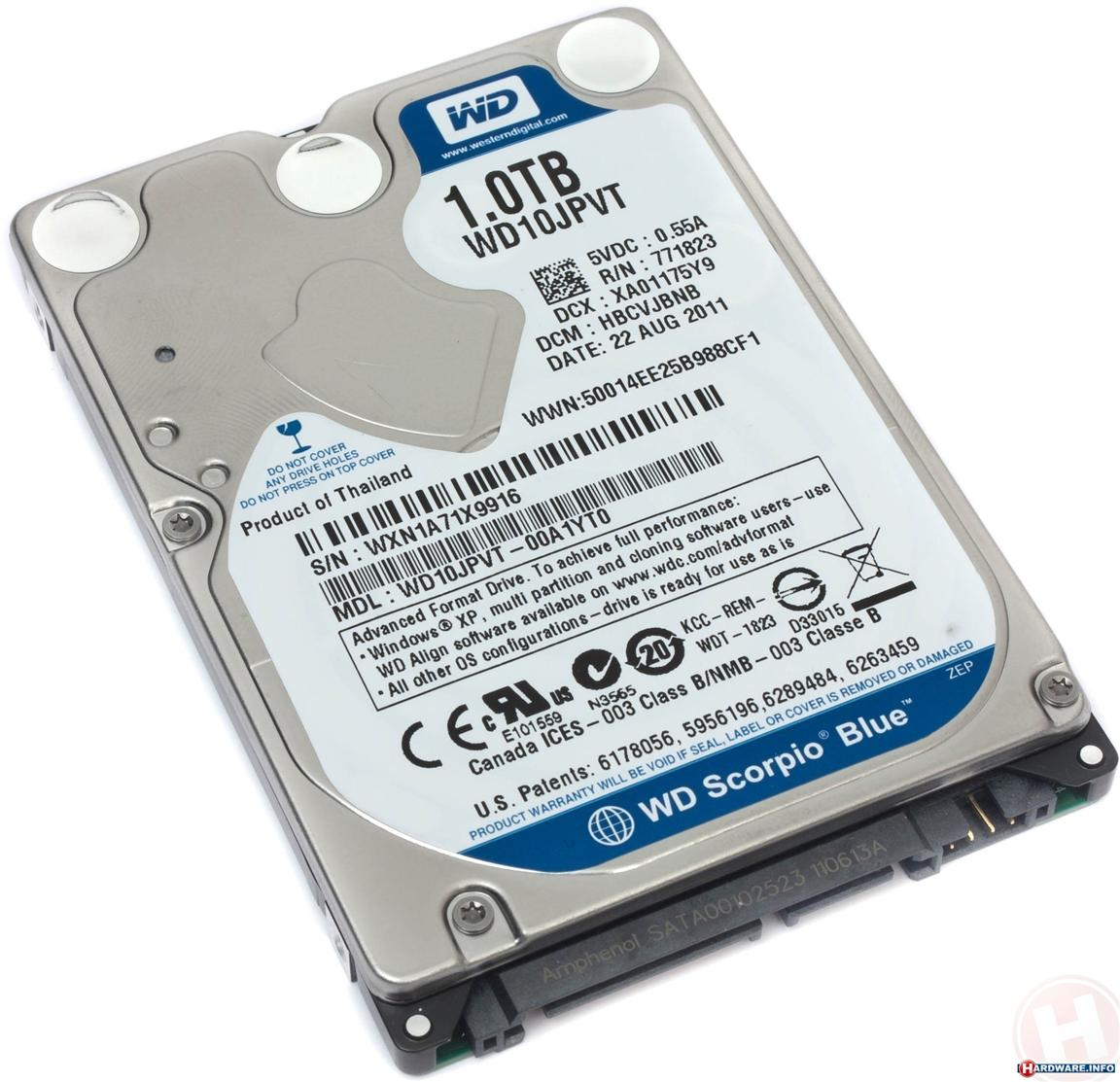 Western Digital Blue 500GB 1TB 2.5' (end 9/30/2018 5:48 PM)