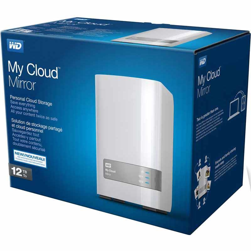 Western Digital MY CLOUD MIRROR (Gen2) 12TB - WDBWVZ0120JWT