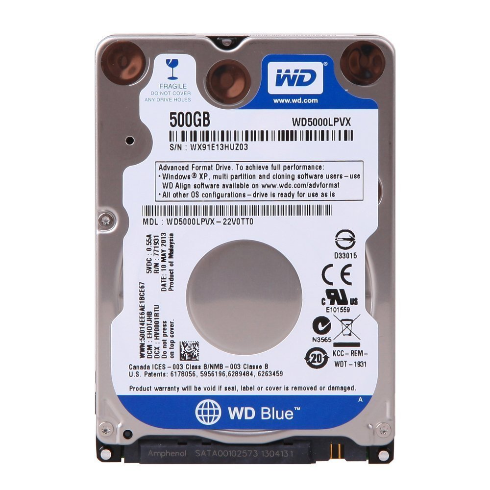 Western Digital Hdd Int Notebook Blue End 4 8 2016 219 Pm Soket Converter Hardisk Laptop Sata Ke Usb Iii 500gb 16mb Wd5000lpcx