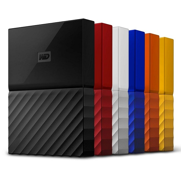 WESTERN DIGITAL MY PASSPORT 4TB 2.5' PORTABLE HDD (WDBYFT0040BOR) ORG