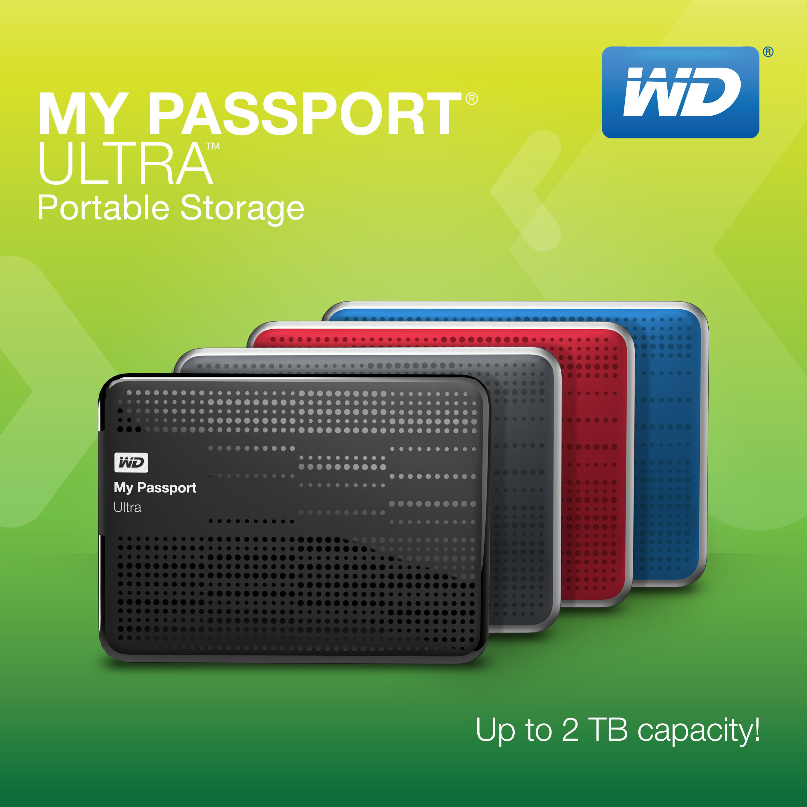 Western Digital My Passport Ultra USB3 0 500gb External Hard Disk HDD