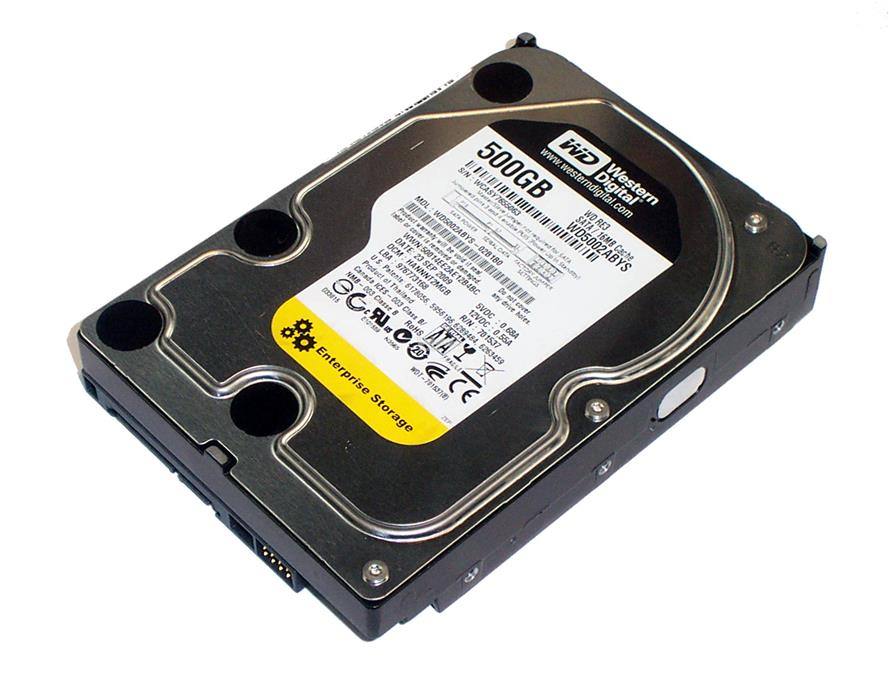Western Digital RE3 WD5002ABYS 500GB 3.5' Sata internal PC desktop HDD