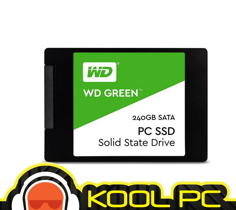 * WESTERN DIGITAL SSD INT 2.5' SATA GREEN 240GB - WDS240G2G0A