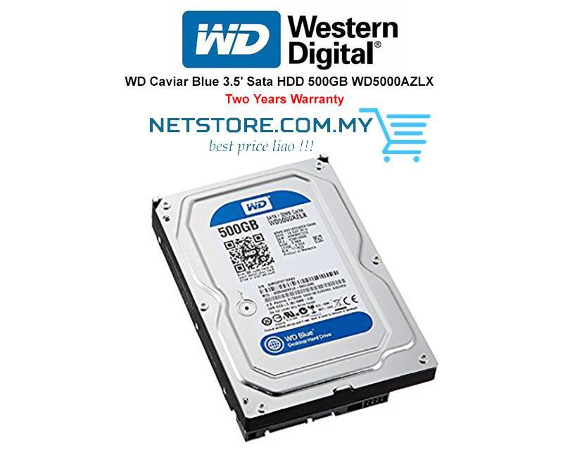 Western Digital WD Caviar Blue SATA 3 5 HDD 500GB|1TB| 2TB|3TB|4TB|6TB