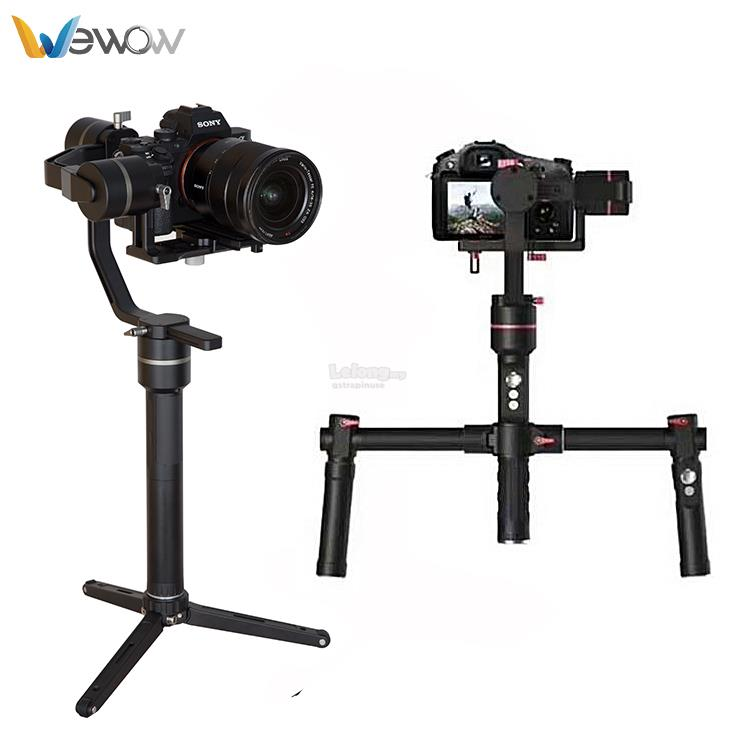 Wewow MD1 3 Axis Video Gimbal Stabilizer for DSLR & Mirrorless System