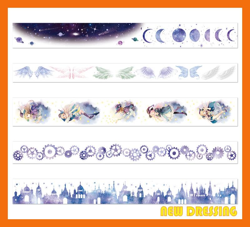 WH312 - Moon and Astrology Washi Tape