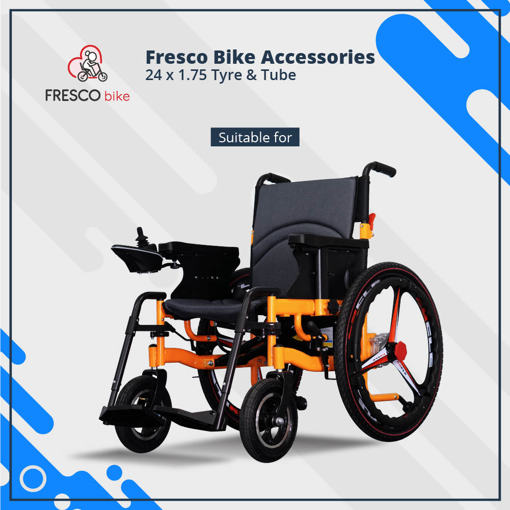 Wheelchair 24 x 1.75 Tube