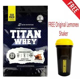Whey Protein Halal – Titan Whey 1kg Eco Pack,Whey Isolate 22g Protein
