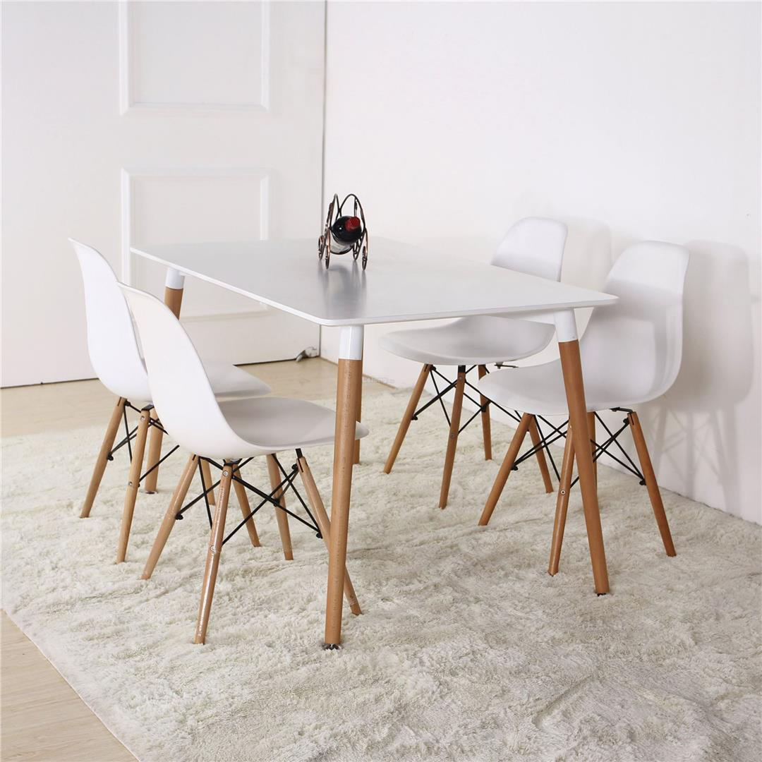 White Eames Dining Table Adtory 016 5921308 Wats