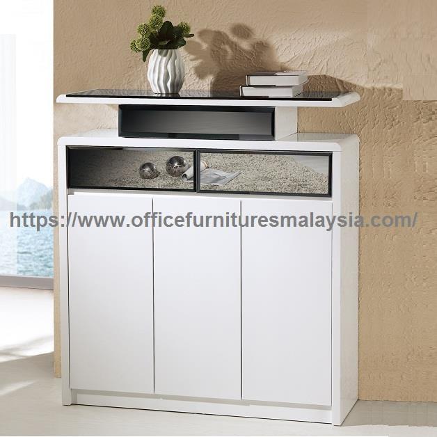 White Hallway Storage Furniture: White Entryway Shoe Storage Cabinet (end 1/17/2020 12:15 PM
