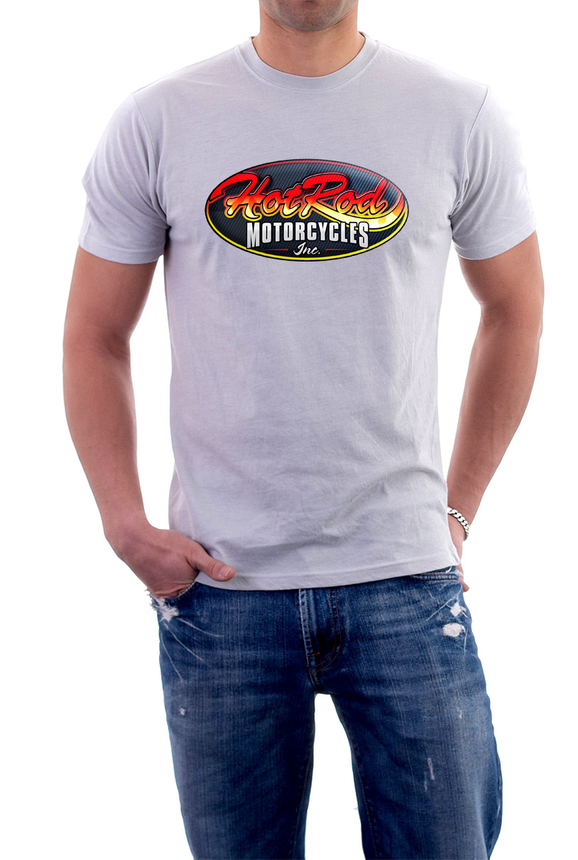 White Hot Rod Motorcycles INC T-Shirts MTR9MW