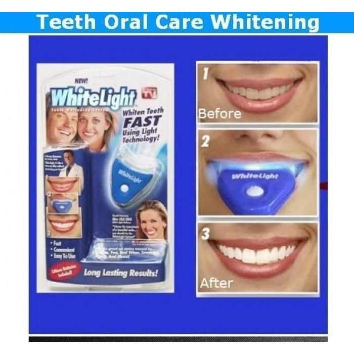 White Light Teeth Whitening System Oral Care whitelight