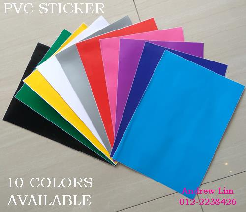 White PVC Sticker A4 100's Waterproof/Tearproof *Free Shipping