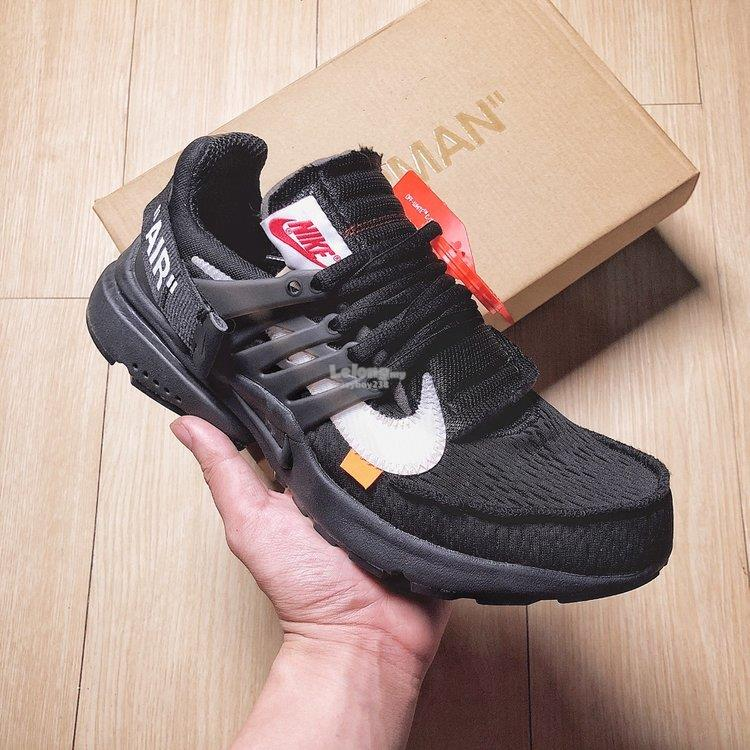 Nike Air Presto 2019 OFF-WHITE x Nike Air Presto black. ‹ ›