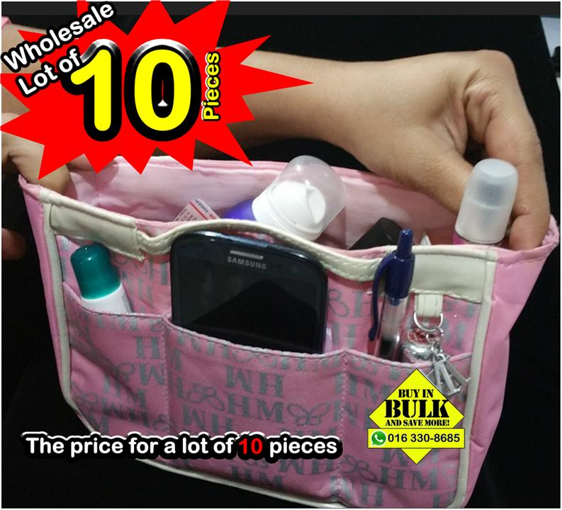 WHOLESALE  10x H M Organiser Bag Purse Storage Case Pouch Travel Make. ‹ › e62ce15da3b88