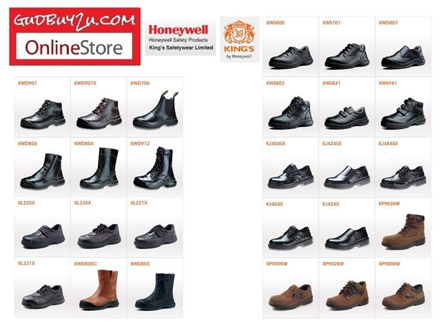 100% authenticated limited sale color brilliancy WHOLESALE - KING 'S SIRIM INDUSTRIAL SAFETY BOOT SHOE KASUT KERJA