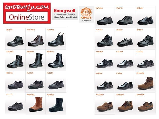 WHOLESALE - KINGS SIRIM SAFETY SHOE (end 5/17/2018 443 PM)