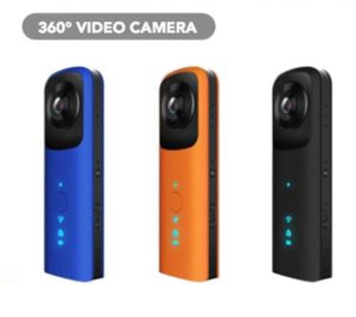 Wifi 360 Degree VR Camera Camcorder (WSP-12B) ★